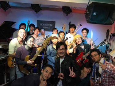 11月6日 超初心者FUNK JAM SESSION@池袋SOMETHIN' Jazz Clubでした!